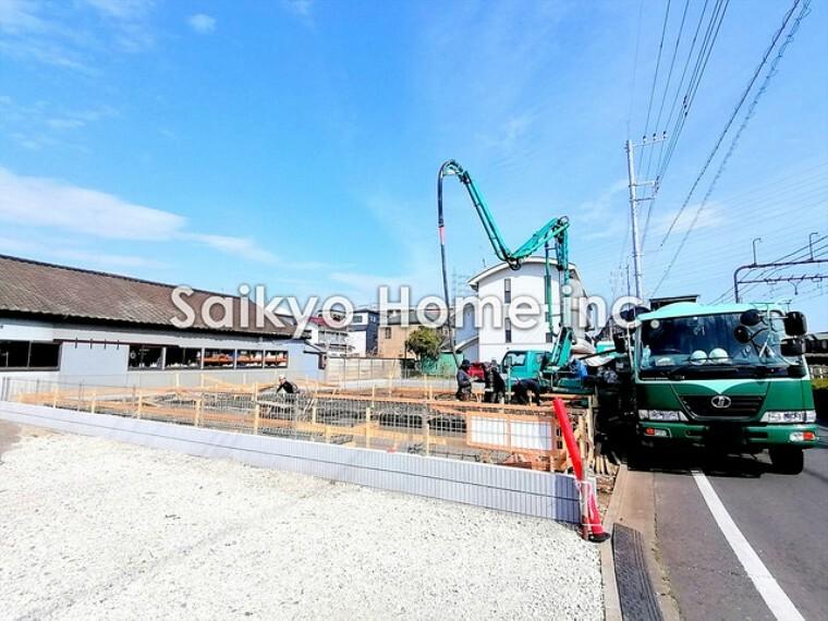現況外観写真 現地写真■府中市白糸台1 新築一戸建て■