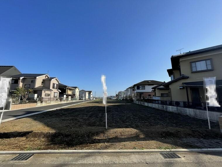 現況写真 新規開発分譲地内の土地です。