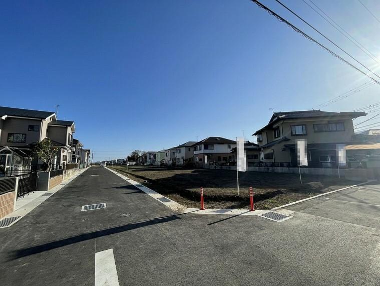 現況写真 近隣は商業施設等整った住環境