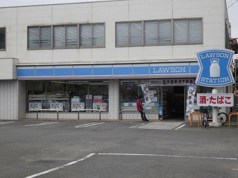 コンビニ ローソン 立川富士見町六丁目店(徒歩約5分/約400m)