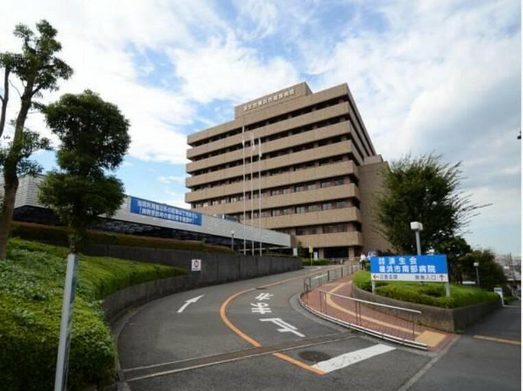 病院 済生会横浜市南部病院(地下1階から地上8階の大総合病院です。地域に溶け込み地域の信頼の厚い頼れる病院となっております。)