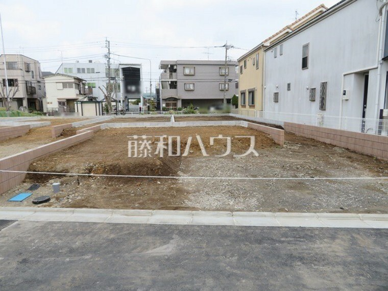 現況外観写真 6号棟 現地写真 【稲城市押立】