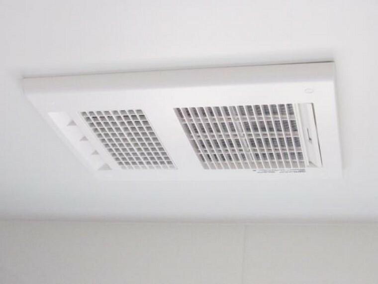 構造・工法・仕様 【リフォーム済】新しく新設した浴室には浴室乾燥機が付いていますので寒い冬でも暖房としてご使用にもなれます。