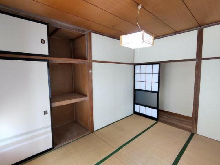 【リフォーム中・東側和室6畳別角度】