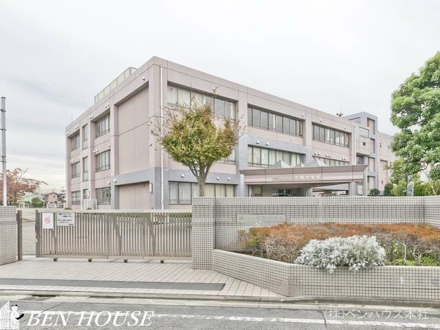 中学校 川崎市立平間中学校 距離560m