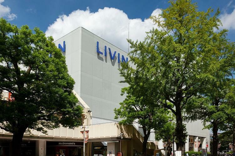 ショッピングセンター LIVIN 光が丘店 ユニクロ、リブロ、ちよだ鮨、タワーレコードなど40店舗が入店する駅前の複合商業施設。