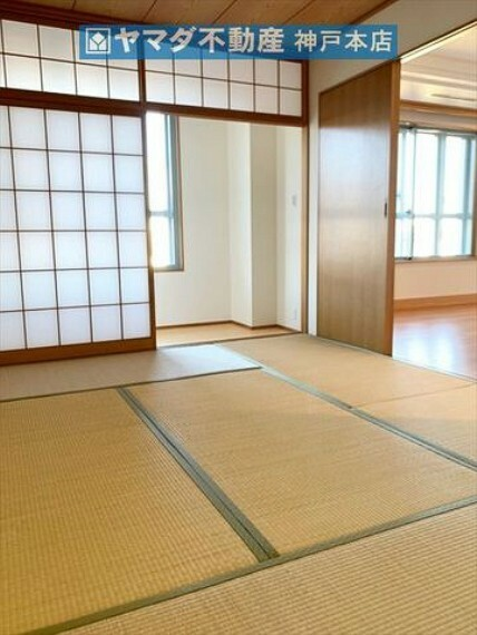 寝室 和室 約6帖。床の間が付いています。