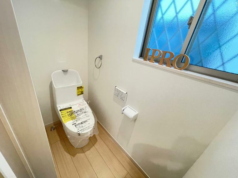 トイレ 2ヶ所設置のトイレで時間がない忙しい朝もすぐに使えて安心です