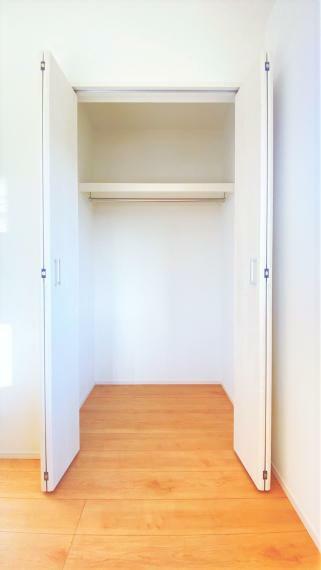 収納 各部屋に収納があり、空間を有効活用できます。