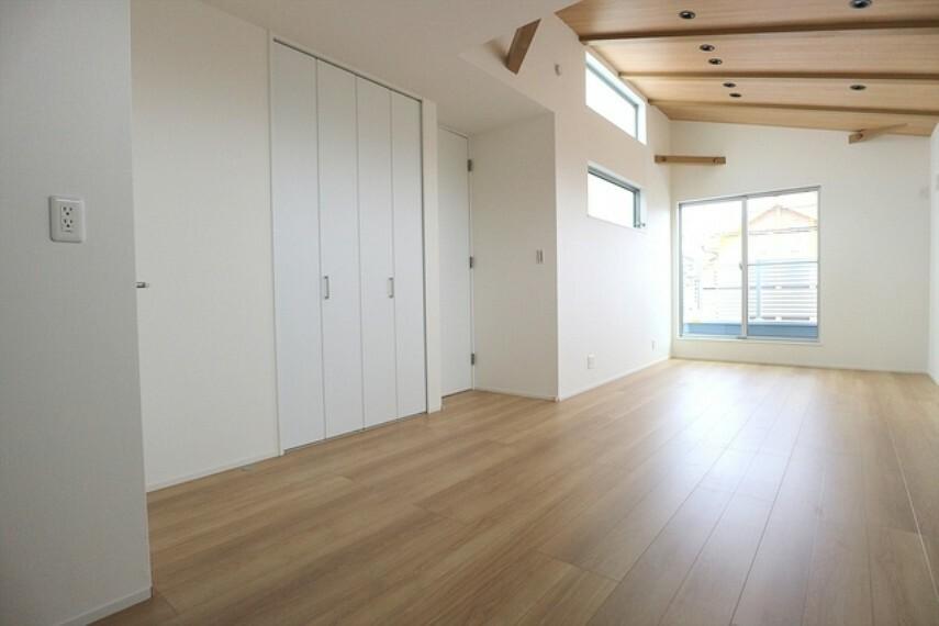 居間・リビング リビング ■立川市幸町4 新築一戸建て■