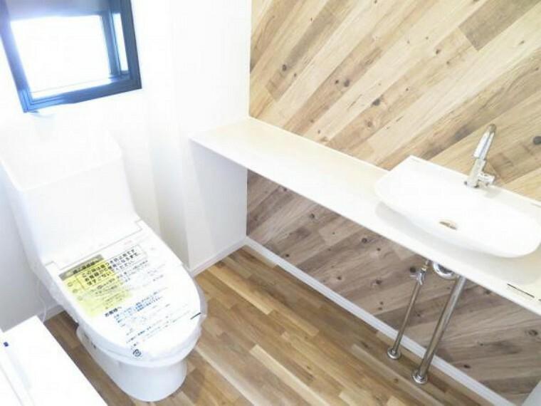 トイレ 1階のトイレ。ゆったりしたスペースです