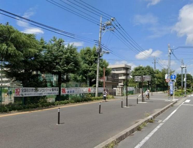 中学校 【中学校】厚木市立厚木中学校まで1321m