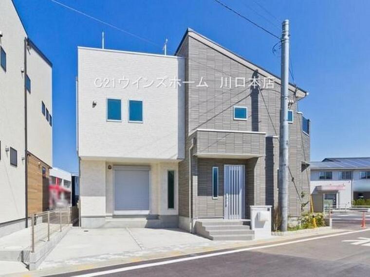 現況外観写真 JR埼京線「戸田」駅徒歩18分×JR京浜東北線「蕨」駅徒歩19分!屋上スカイバルコニーは新しい居住空間を演出!いつだって気軽にアウトドアを満喫できます。