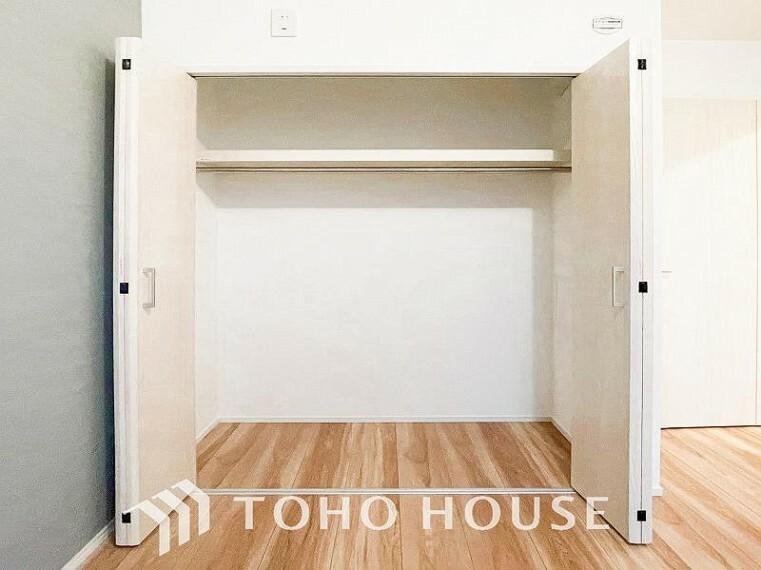 ウォークインクローゼット 暮らし心地を大きく左右する収納を適材適所に配置。