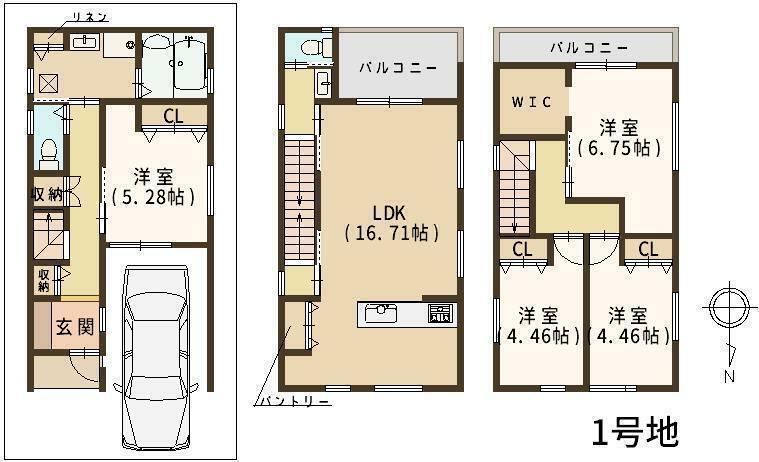 間取り図 間取り図はこちら 部屋数が多く各部屋様々な使い方ができます! 各居室広々としており収納も豊富ですので、ゆったりとした住空間で毎日快適にお過ごしいただけます! ぜひ一度お問い合わせください!