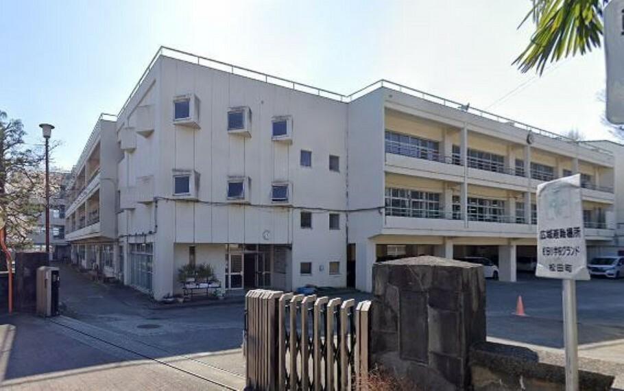 (松田小学校)松田小学校