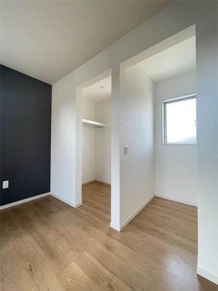 専用部・室内写真 収納スペースも充実