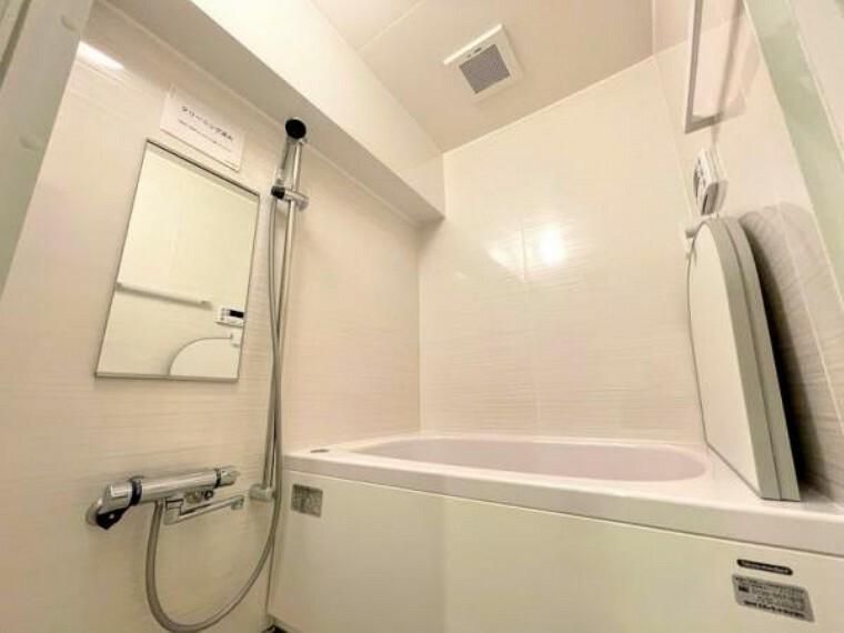 浴室 半身浴もゆっくり楽しめる浴室