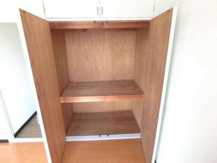 収納 収納付きのお部屋は、室内スペースを広く使えますね。