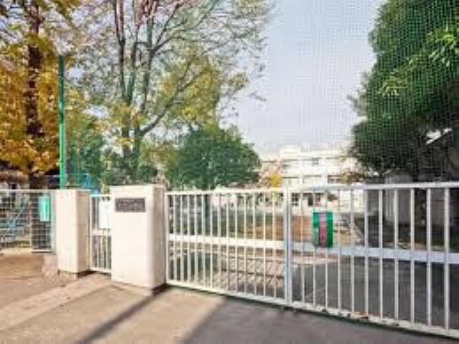 小学校 世田谷区立奥沢小学校まで1087mです。