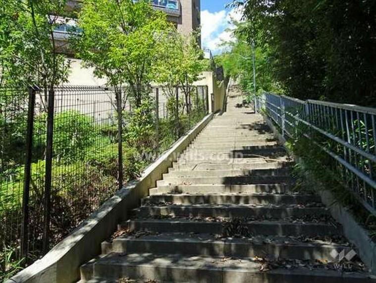 現況写真 敷地東側の遊歩道
