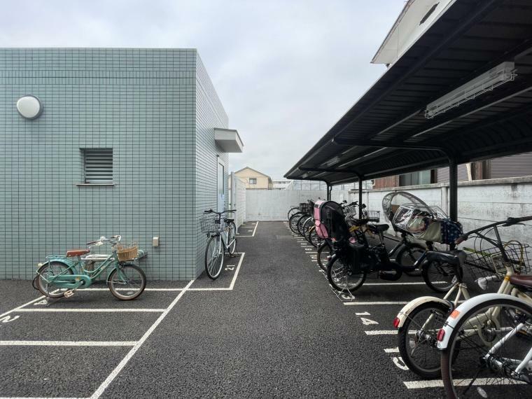 駐輪場 駐輪スペースも完備しています