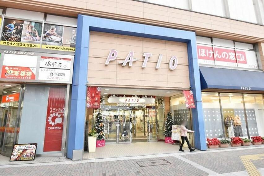 ショッピングセンター パティオ本八幡 徒歩10分。