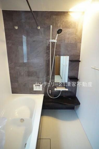 浴室 B号棟:浴室乾燥機で雨の日でも楽々お洗濯!(2021年07月撮影)