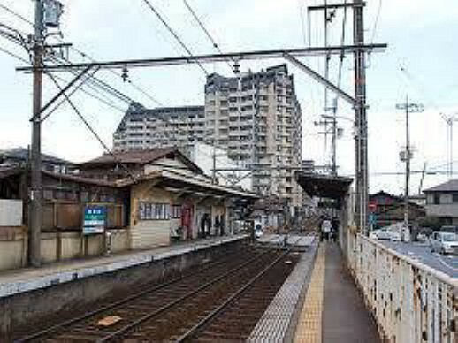 京阪電鉄石坂線 唐橋前駅