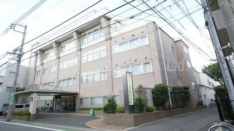 病院 河北前田病院 徒歩3分。
