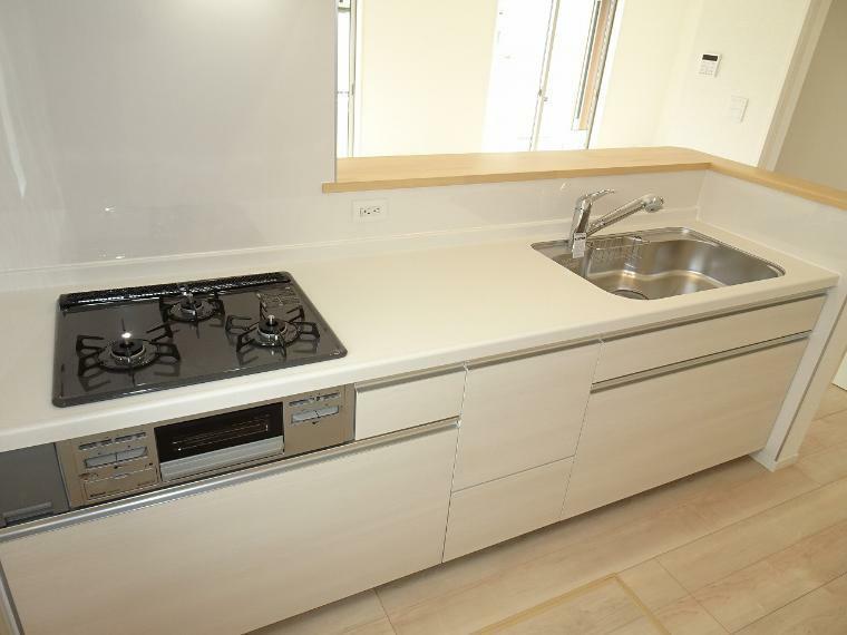 アーネストワンの住宅には浄水器が標準装備。嬉しいですね。