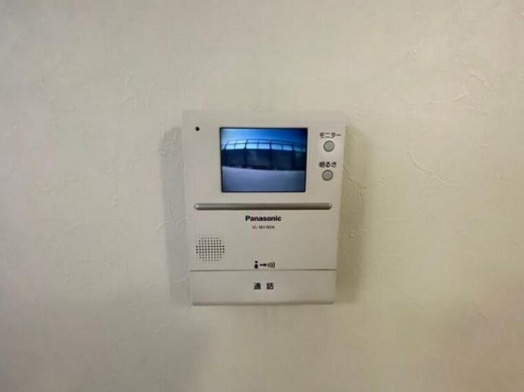 TVモニター付きインターフォン TVモニター付きインターホンで安心ですね