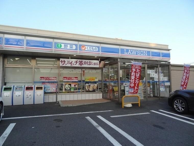 コンビニ ローソン鶴見上末吉五丁目店