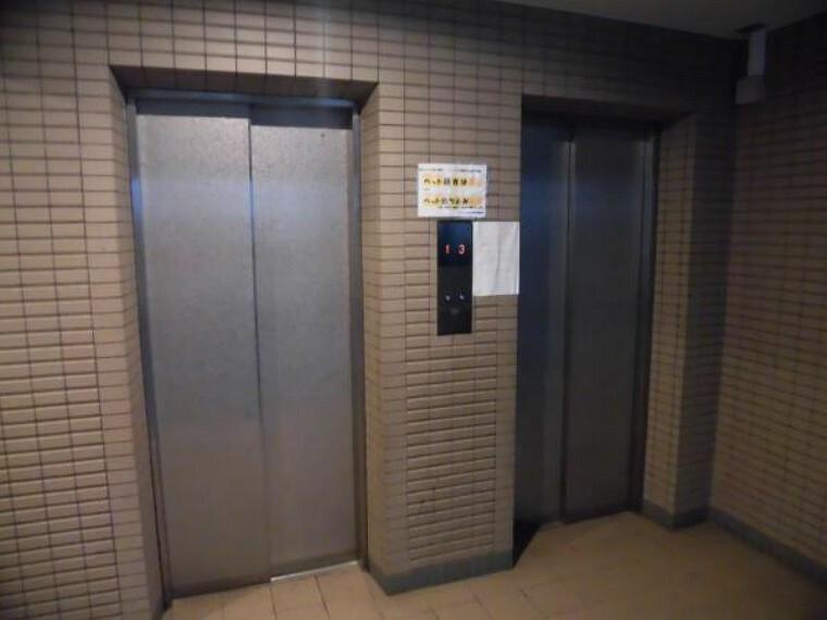エレベーターです。2号機までございます。