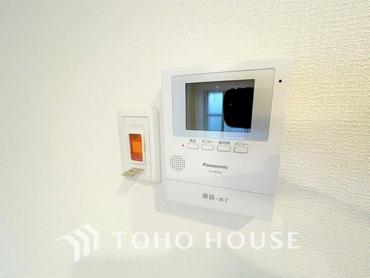 TVモニター付きインターフォン モニター付インターホンで、安心のセキュリティシステム