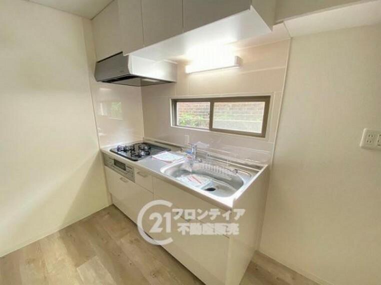 キッチン 新調されたキッチンです!