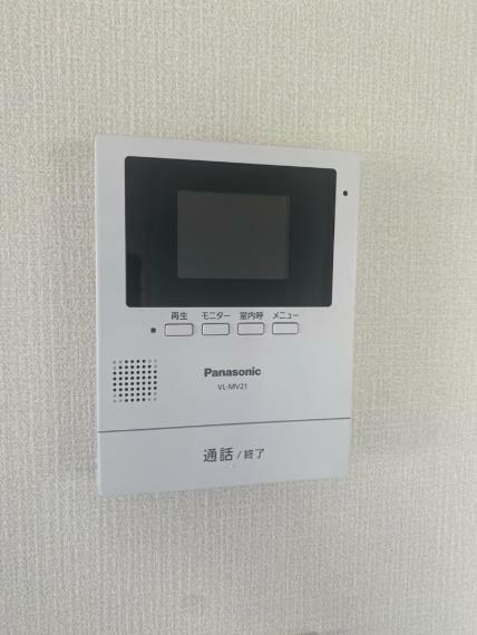 TVモニター付きインターフォン テレビモニターつきのインターホンです!