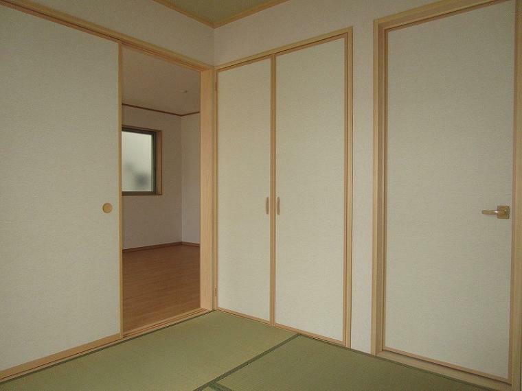 和室 4.5帖の和室 (2021年7月16日撮影)