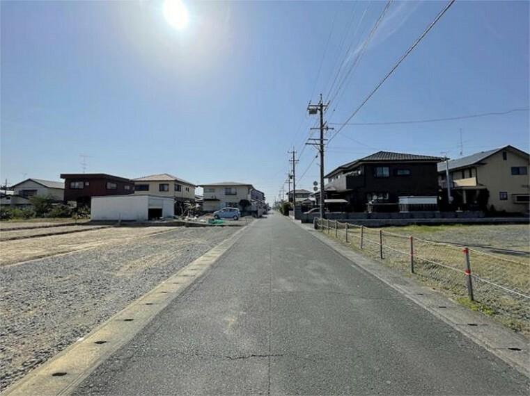 現況写真 前面道路:北約5m