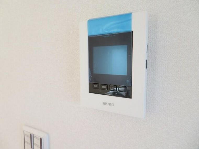 専用部・室内写真 安全・安心・便利なTVモニター付インターホン 【同仕様】