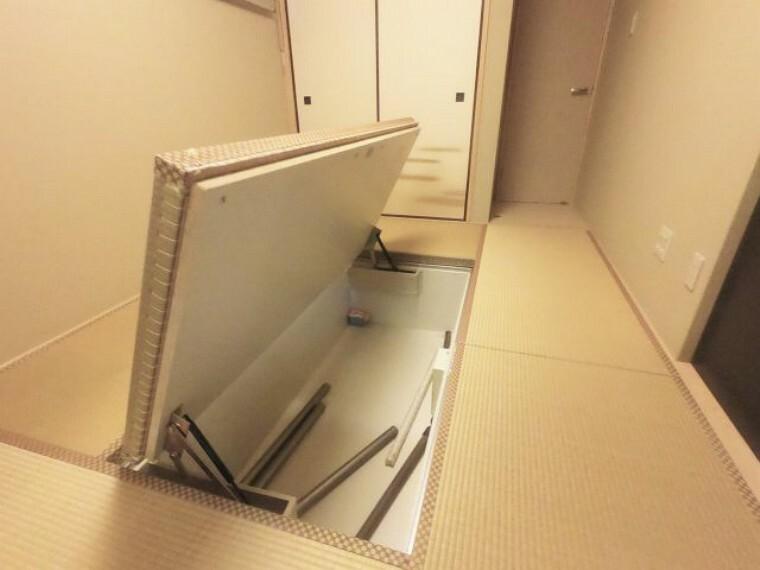 収納 和室 畳下収納