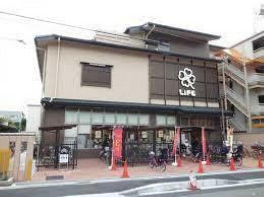 スーパー 【スーパー】ライフ 智恵光院店まで450m