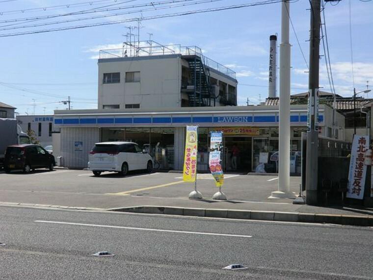 コンビニ 【コンビニエンスストア】ローソン 尼崎大庄西町二丁目まで353m