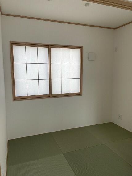 和室 お洒落な琉球畳です