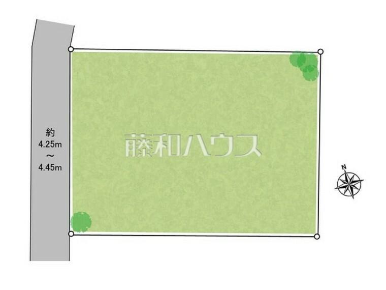 区画図 区画図 【世田谷区代沢2丁目】
