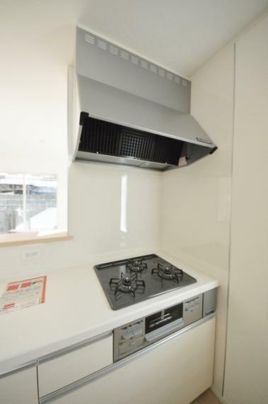 キッチン プロパンガス使用のガスコンロ