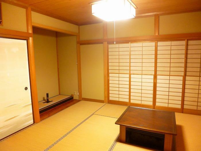 和室 1階和室 広さ8畳です