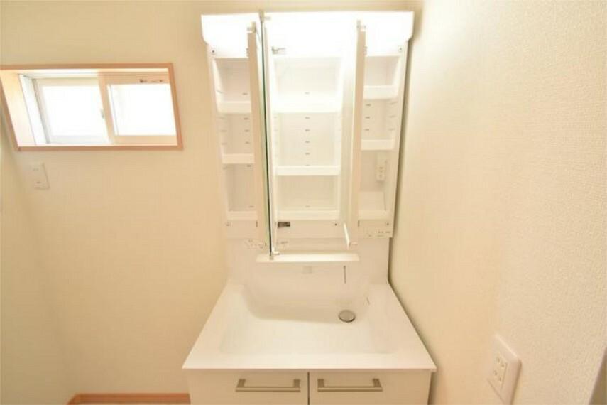 洗面化粧台 施工例です!
