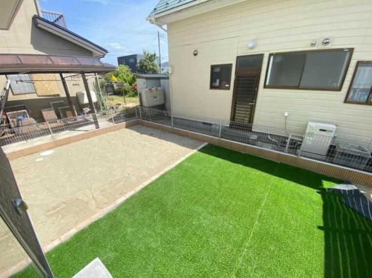 庭 (庭)嬉しいお庭付き!お子様やペットの外遊びにも!敷地内なので安心です。