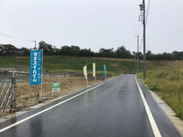 現況写真 【西中山 HIJ区画前面道路】